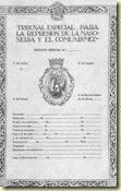 Tribunal especial masoneria comunismo