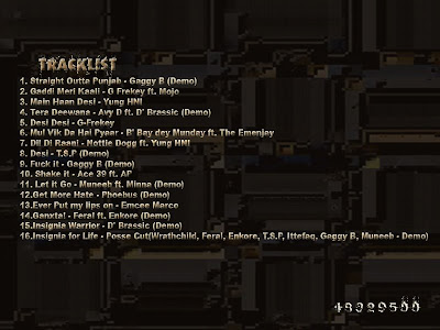 01.%20Tracklist%20%28Back%29 Insignia mixtape{first indian hip hop/rap mixtape ever} music mp3 downloads