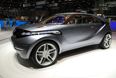 Dacia Duster Coupe Crossover Concept
