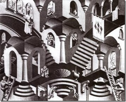 escher concave and convex