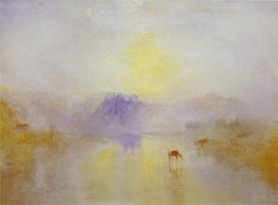 Norham Castle, Sunrise 1835-40