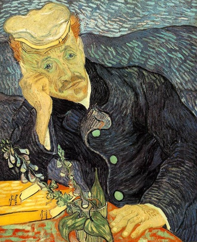 Portrait of Dr. Gachet obra de vicent van gogh