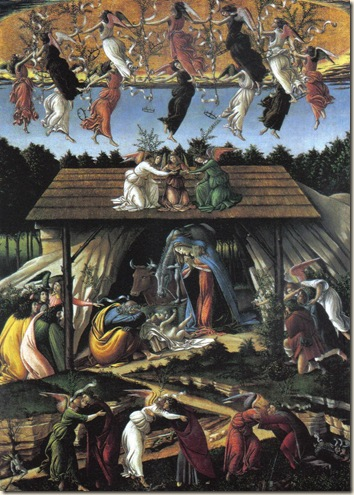 Mystic Nativity Sandro Botticelli