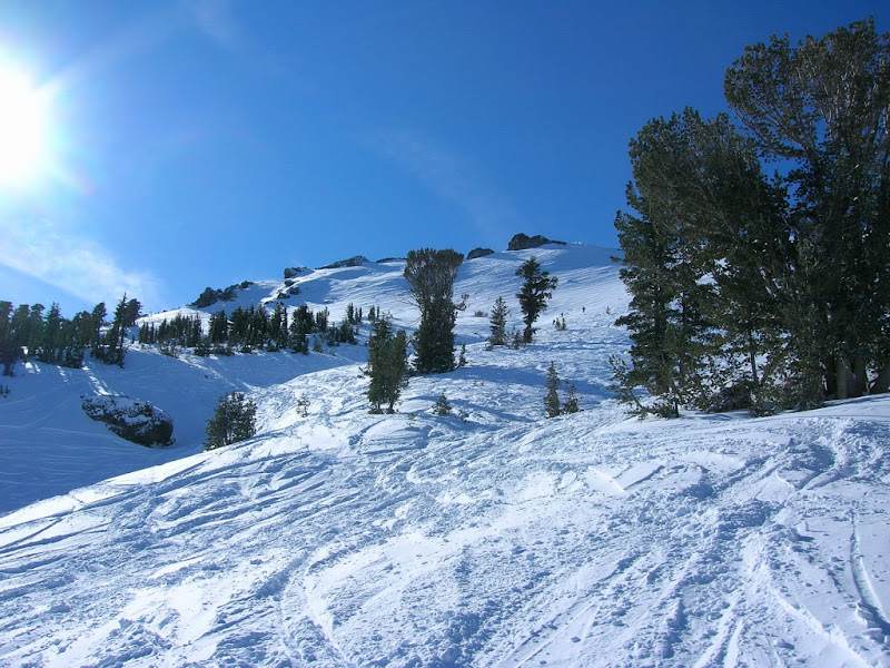 Slopes off the Sunrise Quad
