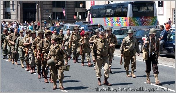 Desfile americanos