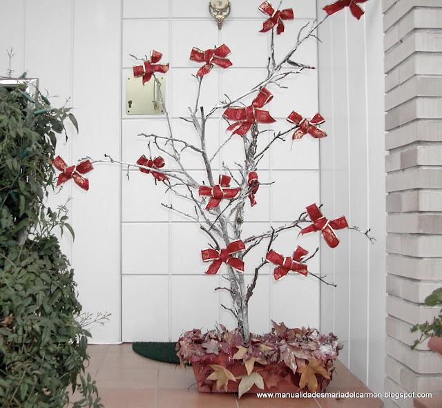 Manualidades la ventana de maria del carmen ramas viejas - Ramas de arbol para decoracion ...