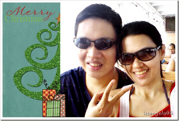 Merry Christmas from Mr. and Mrs. Norbert Angelo Elbanbuena! =)