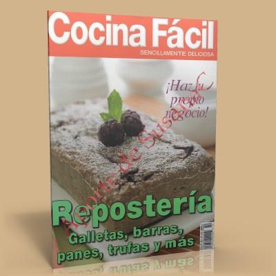 Cocina facil reposteria galletas barras panes y mas - Cocina rapida y facil ...
