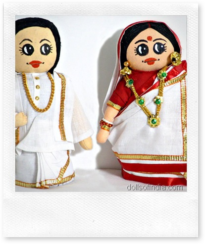 bengali wedding doll