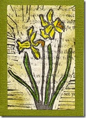 Hand-Carved Daffodils