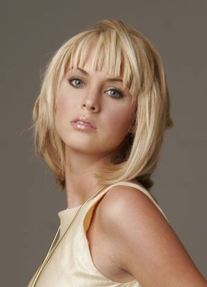 Go for a modern look with a choppy hairstyle for women hair cut.