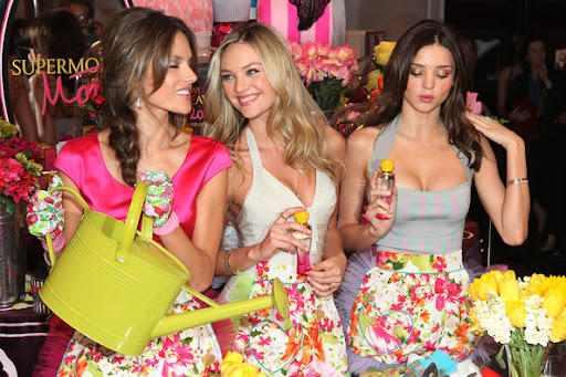 Victoria's Secret Beauty Heavenly Flowers Fragrance Launch