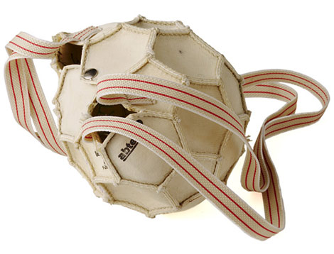 reclaimed soccer ball bag Soccer Ball Bag