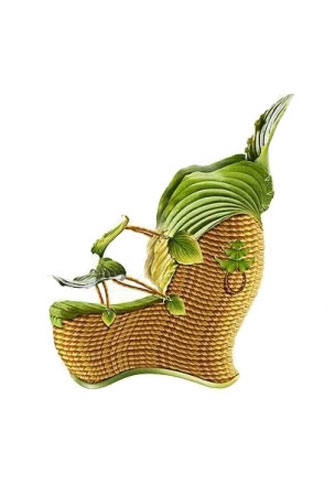 shoe fleur flower 16 thumb 333xauto 31539 Shoes Made From Plants  And Flowers