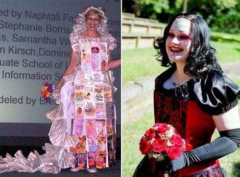 unusual wedding dresses Strange Wedding Gowns