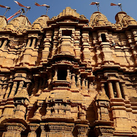 Palace in Jaisalmer, Rajasthan by Arup Maitra - Buildings & Architecture Other Exteriors