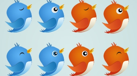 Tweety: Free Twitter Bird Icon by Cheth