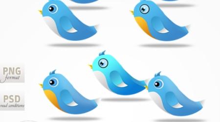 Cutielicious 500+ Twitter Bird by Cheth