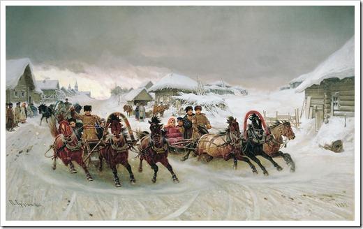 Масленица. 1889 Грузинский Петр Николаевич