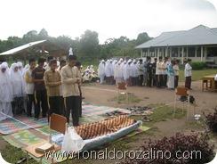 Praktek Fardhu Kifayah Penyelenggaraan Jenazah di SMAN Pintar Kuansing