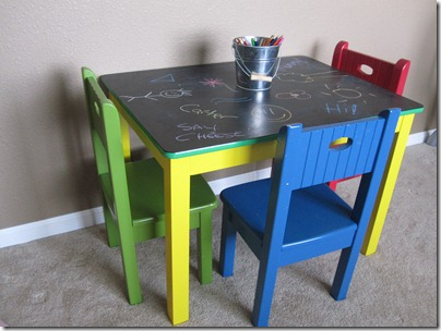 My Kiddos Love This Table And I Have To Admitu2026.I Enjoy Doing A Little  Artwork On It Myself. :)