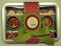Jolly Holiday Magnet Set