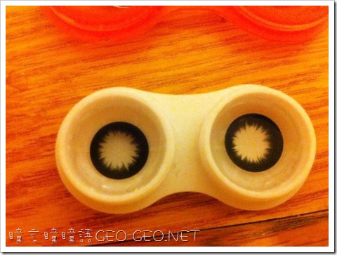 GEO隱形眼鏡-CK-105小S黑瞳-4