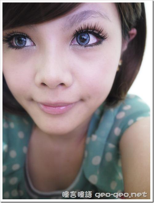 (放大片NEO太陽花灰)(假睫毛 sexy eye)(全頭假髮俏麗美少女桂綸鎂)-16