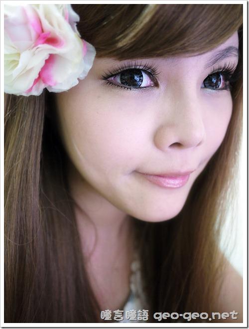 GEO隱形眼鏡 WT-B65MIMO鑽石甜心灰-4