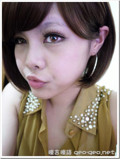 (放大片NEO品牌N344天使三色啡)(全頭假髮-【NSS-01】俏麗美少女桂綸鎂修飾臉型人氣NO.1LB焦糖啡)(假睫毛-sexy eye、baby eye)-1