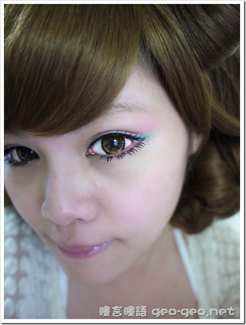 magic magic baby eye下睫毛、日本雜誌大推小惡魔御用多層次感長髮GD金棕色