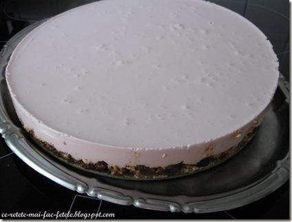 Cheesecake - pastram la rece pentru 4h
