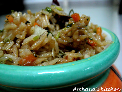 Chilli Coriander Fried Rice