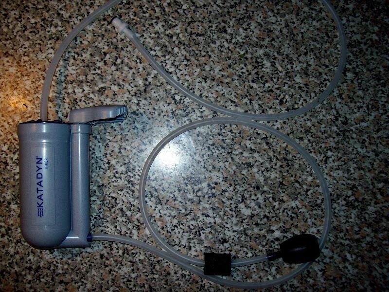 Gironzolando recensione potabilizzatore portatile for Laghetti per tartarughe usati