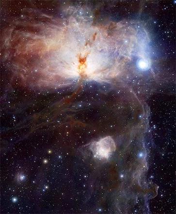 nebulosa chama