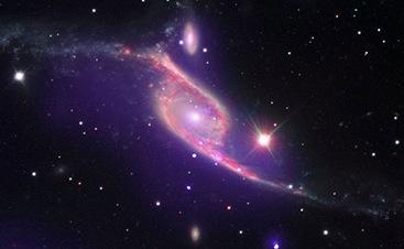 choque de galáxias