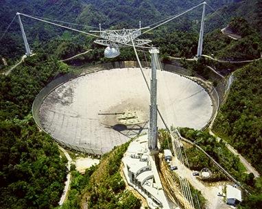 radiotelescópio de Arecibo