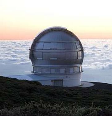 O Gran Telescópio Canárias