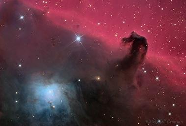 NGC 2023 e Nebulosa Cabeça de Cavalo