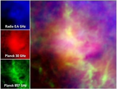 nuvem molecular de Perseus