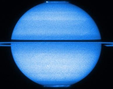 auroras em Saturno