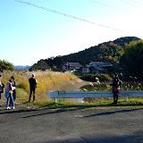 岡ノ段池 この時期は水量が少ない。