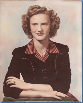 RoseMary Burgess 1946