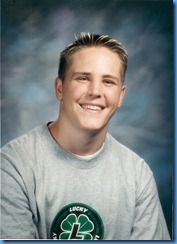 Chris McClay -  Junior Year in high school