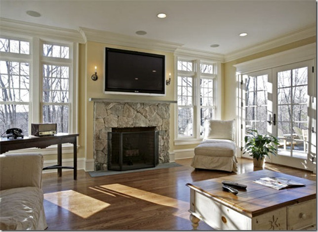 Brilliant Family Room with TV Over Fireplace 644 x 469 · 85 kB · jpeg