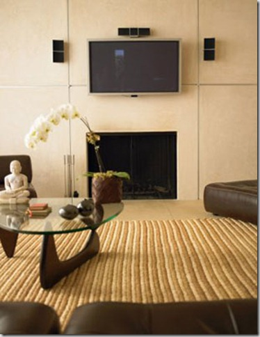 HIDDEN FLAT SCREEN TV DESIGN IDEAS, PICTURES, REMODEL AND