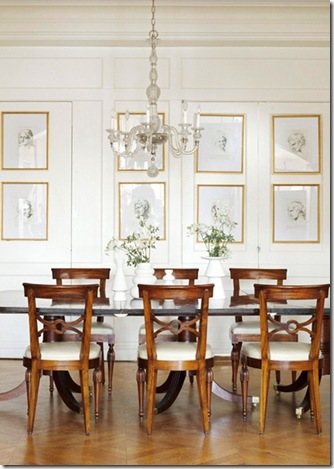 Things that inspire dining room decor part 3 collections for Better homes and gardens dining room ideas