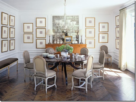 Things that inspire dining room decor part 3 collections on the wall - Veranda dining rooms ...