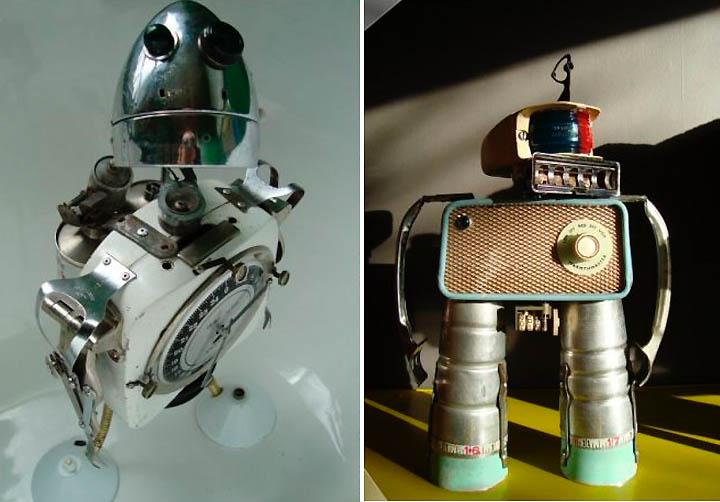 Dark Roasted Blend Utterly Irresistible Robot Sculptures