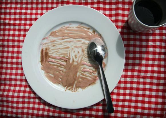Munchs meningsfyllda ångestmat